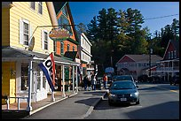 Street, North Woodstock. New Hampshire, USA ( color)