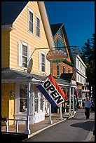 Stores, North Woodstock. New Hampshire, USA ( color)