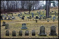 Cemetery. Walpole, New Hampshire, USA ( color)