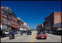 Main street. Concord, New Hampshire, USA (color)