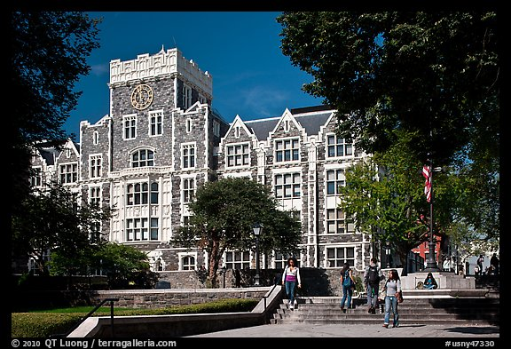 City University of New York. NYC, New York, USA (color)