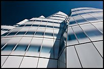 IAC building, afternoon. NYC, New York, USA (color)