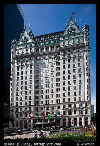 Plaza Hotel. NYC, New York, USA (color)