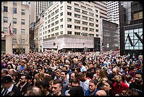 Easter Sunday crowds on Fifth Avenue. NYC, New York, USA ( color)