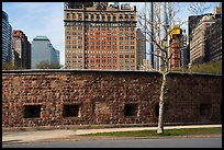 Castle Clinton in Battery Park, Castle Clinton National Monument. NYC, New York, USA ( color)
