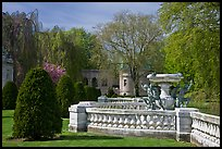 Grounds of The Elms. Newport, Rhode Island, USA ( color)