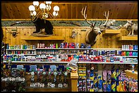 Inside Wall Drug Store, Wall. South Dakota, USA ( color)