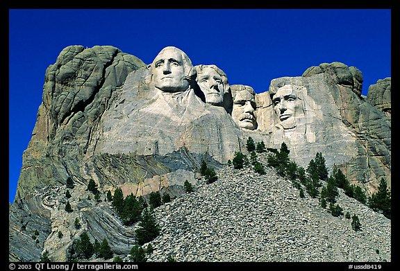 Picture photo borglum monumental sculpture of us