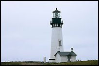 Lighthouse at Yaquina Head. Newport, Oregon, USA ( color)