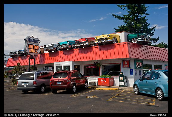 Hot Rod Grill, Florence. Oregon, USA