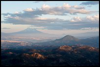 Mt Shasta and Soda Mountain Wilderness. Cascade Siskiyou National Monument, Oregon, USA ( color)