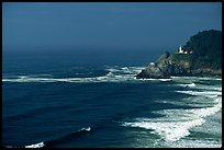 Lighthouse at Haceta Head. Oregon, USA ( color)