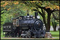 Seattle City Light locomotive, Newhalem. Washington ( color)
