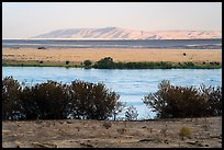 Columbia River and Rattlesnake Mountains, Wahluke Unit, Hanford Reach National Monument. Washington ( color)