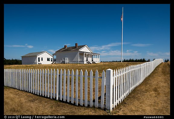 American Camp, San Juan Island National Historical Park, San Juan Island. Washington (color)