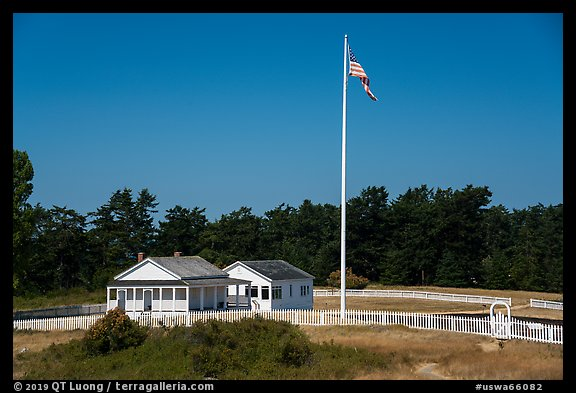 American Camp, San Juan Island National Historical Park. Washington (color)