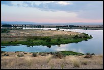 Columbia River arm, Hanford Reach National Monument. Washington ( color)