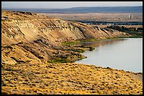 White Cliffs from a distance, Hanford Reach National Monument. Washington ( color)