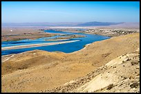 Columbia River and White Bluffs area, Hanford Reach National Monument. Washington ( color)