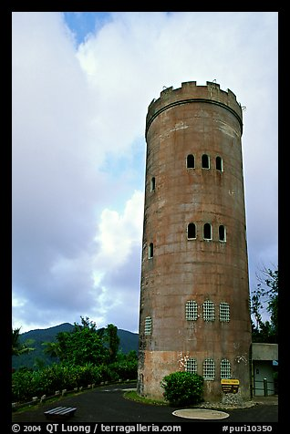 Yokahu Tower, El Yunque, Carribean National Forest. Puerto Rico (color)