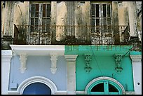 Detail of facade, Ponce. Puerto Rico ( color)