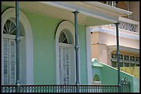 Detail of porch, Ponce. Puerto Rico ( color)