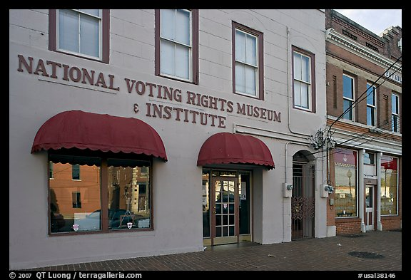 National Voting Rights Museum and Institute. Selma, Alabama, USA (color)