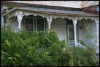 House with crooked porch. Selma, Alabama, USA ( color)