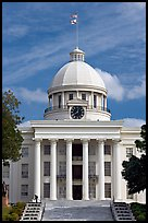 State Capitol built in 1851. Montgomery, Alabama, USA