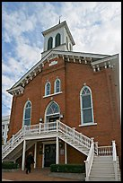 Dexter Avenue King Memorial Baptist Church. Montgomery, Alabama, USA (color)