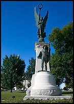 Monument to soldiers of the Confederacy. Little Rock, Arkansas, USA ( color)