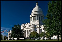 Arkansas State Capitol. Little Rock, Arkansas, USA ( color)