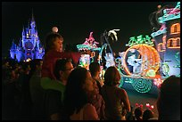 Main Street Electrical parade, Walt Disney World. Orlando, Florida, USA ( color)