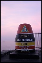 Southermost point in continental US. Key West, Florida, USA (color)