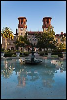 City Hall and Lightner Museum. St Augustine, Florida, USA (color)