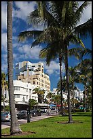 South Beach Art Deco historic district, Miami Beach. Florida, USA ( color)