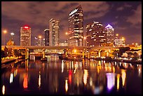 Night skyline, Tampa. Florida, USA ( color)