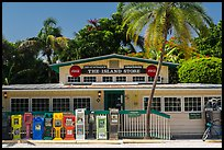 General store, Captiva Island. Florida, USA (color)