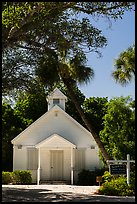 Chapel by the Sea, Captiva Island. Florida, USA ( color)