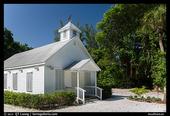 Captiva Chapel by the Sea, Captiva Island. Florida, USA (color)