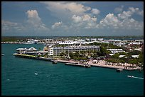 Mallory Square from above. Key West, Florida, USA ( color)