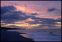 Beach at sunrise. Sanibel Island, Florida, USA