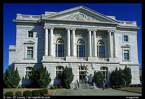 Federal building and courhouse in neo-classical style. Georgia, USA (color)