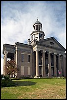 Old courthouse museum. Vicksburg, Mississippi, USA ( color)