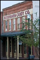 Biedenharn Candy building, where Coca-Cola was first bottled. Vicksburg, Mississippi, USA (color)