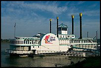 Isle of Capri Casino Riverboat. Natchez, Mississippi, USA ( color)