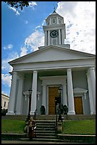First Presbyterian Church. Natchez, Mississippi, USA ( color)