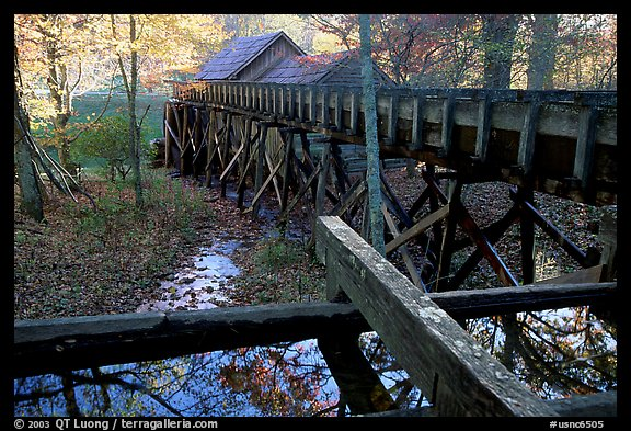 Mabry Mill, Blue Ridge Parkway. Virginia, USA