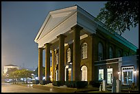 First Baptist Church at night. Columbia, South Carolina, USA