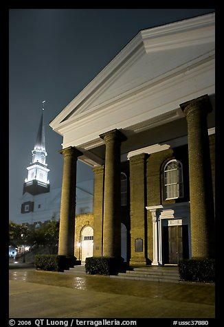 First Baptist Church, where the Ordinances of Secession were drawn. Columbia, South Carolina, USA (color)